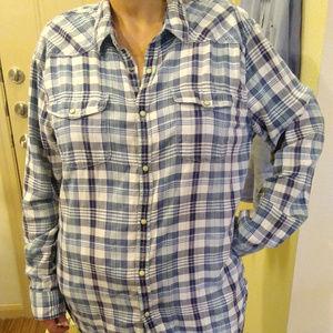 Lucky Brand flannel shirt size XL